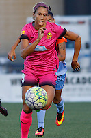 Rochester, NY - Saturday Aug. 27, 2016: Lynn Williams during a regular season National Women's Soccer League (NWSL) match between the Western New York Flash and the Houston Dash at Rochester Rhinos Stadium.