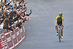 Annemiek van Vleuten (NED) Mitchelton-Scott Women wins the Strade Bianche Women Elite 2019 running 133km from Siena to Siena, held over the white gravel roads of Tuscany, Italy. 9th March 2019.<br /> Picture: LaPresse/Gian Matteo D'Alberto | Cyclefile<br /> <br /> <br /> All photos usage must carry mandatory copyright credit (© Cyclefile | LaPresse/Gian Matteo D'Alberto)
