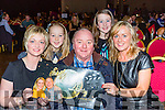 Liam Colleran's family cheering him and his partner Aoife Dolan Twomey on to win the Strictly Come Dancing event in aid of the Irish Cancer Society at the INEC Killarney on Friday night, l-r: Siobhan O'Sullivan, Rian Colleran, Gerard O'Sullivan, Seodhla and Beatrice Colleran.