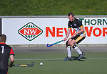 Action from the Wellington Hockey men's open grade premier one match between Northern United and Naenae at National Hockey Stadium in Wellington, New Zealand on Saturday, 3 August 2019. Photo: Dave Lintott / lintottphoto.co.nz