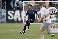 San Jose, CA - Tuesday June 11, 2019: Luis Felipe #96 during the US Open Cup match between the San Jose Earthquakes and Sacramento Republic FC at Avaya Stadium.
