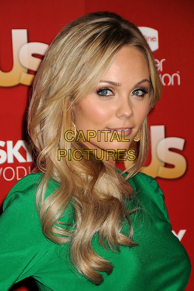 LAURA VANDERVOORT.US Weekly's Hot Hollywood Party 2009 held at Voyeur, West Hollywood, California, USA..November 18th, 2009.headshot portrait green .CAP/ADM/BP.©Byron Purvis/AdMedia/Capital Pictures.