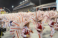 SAO PAULO, SP, 19 DE FEVEREIRO 2012 - CARNAVAL SP - PEROLA NEGRA - Desfile da escola de samba Dragoes da Real na segunda noite do Carnaval 2012 de São Paulo, no Sambódromo do Anhembi, na zona norte da cidade, neste domingo. (FOTO: ADRIANO LIMA  - BRAZIL PHOTO PRESS).