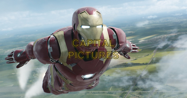 Captain America: Civil War (2016) <br /> Iron Man/Tony Stark (Robert Downey Jr.)<br /> *Filmstill - Editorial Use Only*<br /> CAP/KFS<br /> Image supplied by Capital Pictures