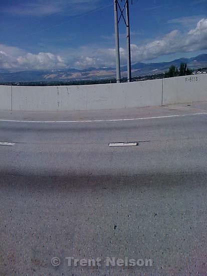 Driving to the veterans' cemetery, along I-15, redwood road, bangerter highway