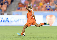 Houston, TX - Saturday September 23, 2017: Amber Brooks during a regular season National Women's Soccer League (NWSL) match between the Houston Dash and the Chicago Red Stars at BBVA Compass Stadium.