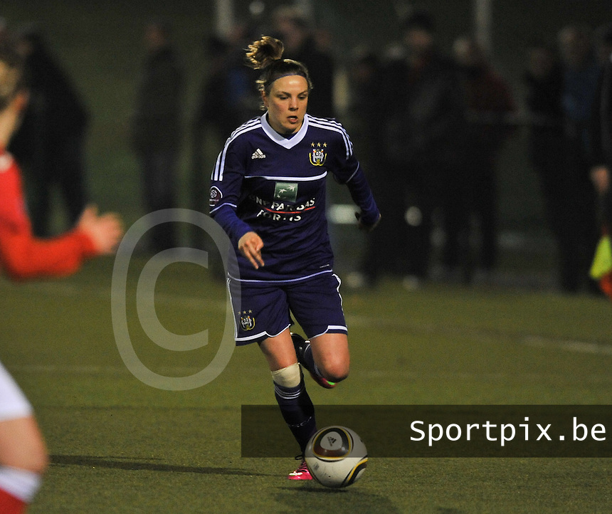 RSC Anderlecht - Standard Femina : Lorca Van De Putte.foto DAVID CATRY / Vrouwenteam.be