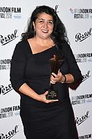Sudabeh Mortezai<br /> arriving for the London Film Festival Awards, Vue Leicester Square, London<br /> <br /> ©Ash Knotek  D3452  20/10/2018