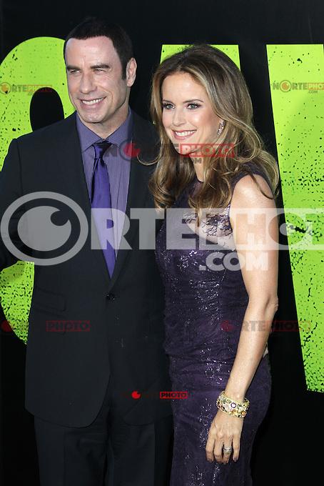 John Travolta and Kelly Preston at the Premiere of Universal Pictures' 'Savages' at Westwood Village on June 25, 2012 in Los Angeles, California. &copy;&nbsp;mpi21/MediaPunch Inc. /&Acirc;&uml;NORTEPHOTO&Acirc;&uml;<br /> **SOLO*VENTA*EN*MEXICO** **CREDITO*OBLIGATORIO** *No*Venta*A*Terceros* *No*Sale*So*third* *** No Se Permite Hacer Archivo** *No*Sale*So*third*&Acirc;&copy;Imagenes con derechos de autor,&Acirc;&copy;todos reservados. El uso de las imagenes est&Atilde;&iexcl; sujeta de pago a nortephoto.com El uso no autorizado de esta imagen en cualquier materia est&Atilde;&iexcl; sujeta a una pena de tasa de 2 veces a la normal. Para m&Atilde;&iexcl;s informaci&Atilde;&sup3;n: nortephoto@gmail.com* nortephoto.com.