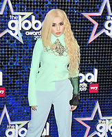 Ava Max (Amanda Ava Koci) at the Global Awards 2019, Hammersmith Apollo (Eventim Apollo), Queen Caroline Street, London, England, UK, on Thursday 07th March 2019.<br /> CAP/CAN<br /> &copy;CAN/Capital Pictures