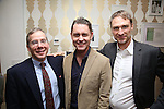 Ira Gilbert, Michael McCorry and Ben Nowell during The DGF's 14th Biannual Madge Evans & Sidney Kingsley Awards at the Dramatists Guild Fund headquarters on April 4, 2016 in New York City.