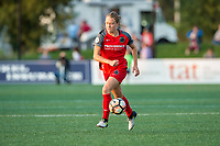 Boston, MA - Sunday September 10, 2017: Emily Sonnett during a regular season National Women's Soccer League (NWSL) match between the Boston Breakers and Portland Thorns FC at Jordan Field.