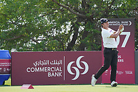 Sihwan Kim (USA) during the final round of the Commercial Bank Qatar Masters 2020, Education City Golf Club , Doha, Qatar. 08/03/2020<br /> Picture: Golffile | Phil Inglis<br /> <br /> <br /> All photo usage must carry mandatory copyright credit (© Golffile | Phil Inglis)