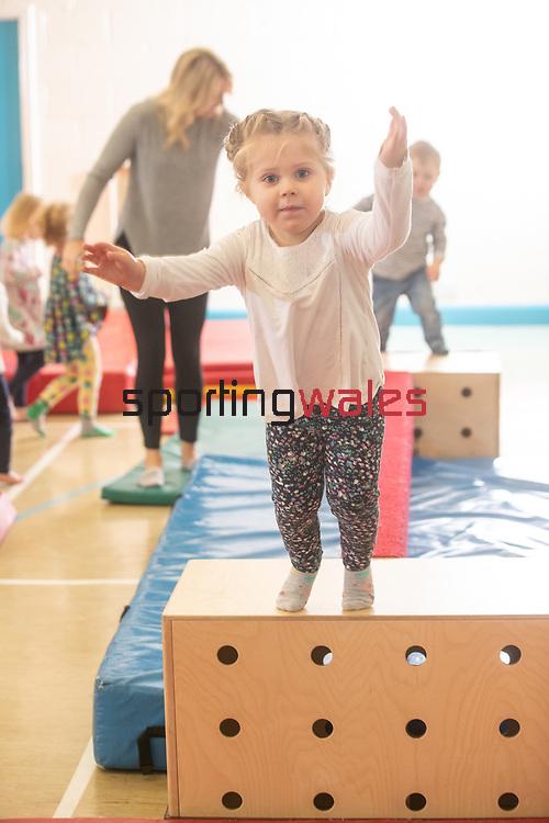 Welsh Gymnastics<br /> Head Over Heels Gymnastics Club<br /> 12.04.19<br /> ©Steve Pope<br /> Sportingwales