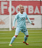 20171123 - TUBIZE , BELGIUM : Russian Korovkina pictured during a friendly game between the women teams of the Belgian Red Flames and Russia at complex Euro 2000 in Tubize , Thursday  23 October 2017 ,  PHOTO Dirk Vuylsteke | Sportpix.Be