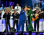 CORAL GABLES, FL - APRIL 28: Juan Gabriel and Paty Cantu performs onstage at the Billboard Latin Music Awards at the BanKUnited Center on Thursday April 28, 2016 in Coral Gables, Florida. ( Photo by Johnny Louis / jlnphotography.com )