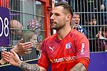 09.11.2019, Stadion an der Bremer Brücke, Osnabrück, GER, 2. FBL, VfL Osnabrueck vs. VfB Stuttgart<br /> <br /> ,DFL REGULATIONS PROHIBIT ANY USE OF PHOTOGRAPHS AS IMAGE SEQUENCES AND/OR QUASI-VIDEO, <br />   <br /> im Bild<br /> Philipp Kühn / Kuehn (VfL Osnabrück #22)<br /> <br /> <br /> Foto © nordphoto / Paetzel
