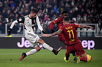 Rodrigo Bentancur of Juventus scores the goal of 2-0 <br /> Torino 22/01/2020 Juventus Stadium <br /> Football Italy Cup 2019/2020 <br /> Juventus FC - AS Roma <br /> Photo Federico Tardito / Insidefoto