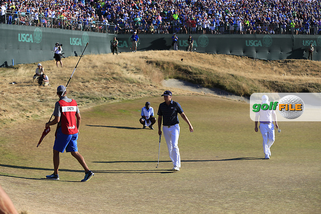 \{prsn}\ during Sunday's Final Round of the 2015 U.S. Open 115th National Championship held at Chambers Bay, Seattle, Washington, USA. 6/22/2015.<br /> Picture: Golffile | Eoin Clarke<br /> <br /> <br /> <br /> <br /> All photo usage must carry mandatory copyright credit (&copy; Golffile | Eoin Clarke)