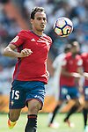 Unai Garcia of Osasuna in action during the La Liga match between Real Madrid and Osasuna at the Santiago Bernabeu Stadium on 10 September 2016 in Madrid, Spain. Photo by Diego Gonzalez Souto / Power Sport Images