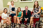 Clounmacon GAA Social: Attending the Clounmacon GAA social on Friday night last at the Listowel Arms Hotel were Margaret Mulvihill, Laura Stack, Erin Finucane, Fintan McEnery & Catriona Farrelly.