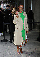 NEW YORK, NY - FEBRUARY 12: Issa Rae at Michael Kors Fashion Show during New York Fashion Week 2020 in New York City on February 12, 2020. <br /> CAP/MPI/EN<br /> ©EN/MPI/Capital Pictures