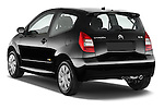Rear three quarter view of a 2008 - 2009 Citroen C2 VTR 3 Door Hatchback 2WD