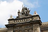 Nederland Amsterdam . Het Barlaeus Gymnasium. Foto Berlinda van Dam / Hollande Hoogte
