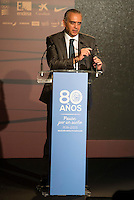 FEB President Jose Luis Saez during the 80th Aniversary of the National Basketball Team at Melia Castilla Hotel, Spain, September 01, 2015. <br /> (ALTERPHOTOS/BorjaB.Hojas) / NortePhoto.Com