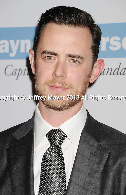 CULVER CITY, CA- NOVEMBER 09: Actor Colin Hanks arrives at the 2nd Annual Baby2Baby Gala at The Book Bindery on November 9, 2013 in Culver City, California.