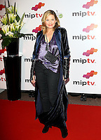 Kim Cattrall attends the MipTV Red Carpet, at the Martinez hotel - Cannes