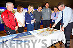 Pictured at the Open Consultation Day for the South Kerry Greenway in the Ring of Kerry Hotel Cahersiveen on Thursday were l-r; Kevin Griffin(Glenbeigh), Niamh Fannon(KCC), Annameria Costello(Planning Officer KCC), Peter Keane(Cahersiveen & Killorglin), Muiris Walsh(Laharn South), Michael McGough(Chief Consultant) & Tom Sheehy(Snr. Engineer KCC).