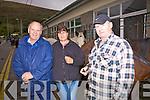 Buying or selling at the Cahersiveen Horse Fair in Cahersiveen on Thursday last were l-r; John O'Brien, Mary Hartigan & Michael Harrington.