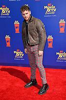 SANTA MONICA, USA. June 16, 2019: Bazzi at the 2019 MTV Movie & TV Awards at Barker Hangar, Santa Monica.<br /> Picture: Paul Smith/Featureflash