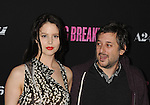 HOLLYWOOD, CA - MARCH 14: Harmony Korine and Rachel Korine attend the 'Spring Breakers' Los Angeles Premiere at ArcLight Hollywood on March 14, 2013 in Hollywood, California.