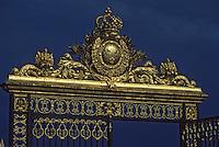 Europe/France/Ile-de-France/78/Yvelines/Versailles/Château de Versailles: Les grilles du château