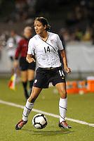 Stephanie Cox...USWNT tied Sweden 1-1 at Morrison Stadium, Omaha Nebraska.