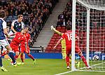 Christophe Berra scores for Scotland