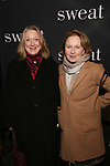 "Kristine Nielson and Kate Burton attend the Broadway Production of  ""Sweat"" at studio 54 Theatre on March 26, 2017 in New York City"