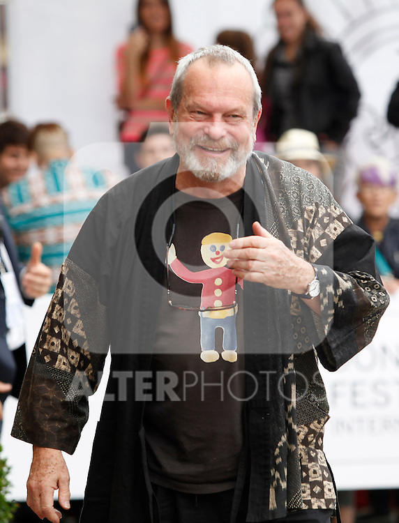 arrives to Maria Cristina Hotel to attend the 61 San Sebastian Film Festival, in San Sebastian, Spain. September 20, 2013. (ALTERPHOTOS/Victor Blanco)