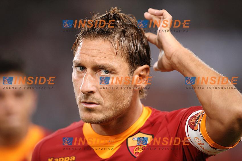 "Francesco TOTTI Roma.Roma 25/8/2011 Stadio ""Olimpico"".Football Calcio Europa League 2011/2012.Roma Vs Slovan Bratislava.Foto Insidefoto Andrea Staccioli"