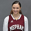 Maryann Bagonis of Mepham poses for a portrait during Newsday's 2017-18 varsity girls basketball season preview photo shoot at company headquarters in Melville on Monday, Dec. 4, 2017.