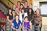 Pictured enjoying the CSSD Department of Kerry General Hospital night out in lOrd Kenmares restaurant, Killarney on Saturday night were Mary McMahon, Ellen Cox, Siobhan Kelliher, Cora Walsh, Joanne O'Shea, Bela Hennessy, Marie Murray, Bev Griffin, Marina Sheehy, Patricia Griffin, Catherine Burke and Jodie Thornton.  ..........................................................................................
