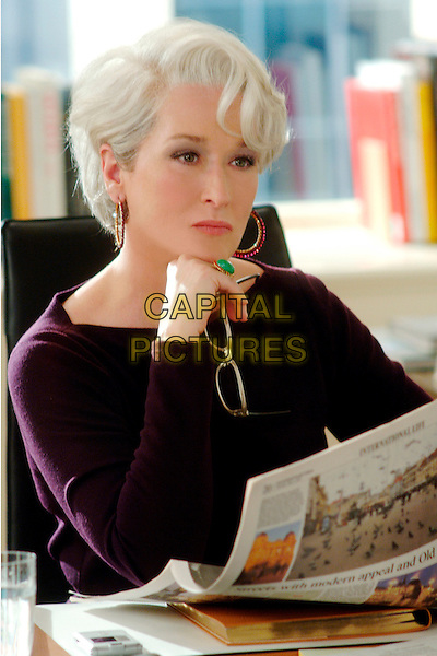 MERYL STREEP.in The Devil Wears Prada.Filmstill - Editorial Use Only.CAP/AWFF.www.capitalpictures.com.sales@capitalpictures.com.Supplied By Capital Pictures.