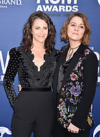 LAS VEGAS, CA - APRIL 07: Catherine Shepherd (L) and Brandi Carlile attend the 54th Academy Of Country Music Awards at MGM Grand Hotel &amp; Casino on April 07, 2019 in Las Vegas, Nevada.<br /> CAP/ROT/TM<br /> &copy;TM/ROT/Capital Pictures