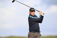 Ben Murray (Waterford CAstle) on the 9th tee during Round 2 of The East of Ireland Amateur Open Championship in Co. Louth Golf Club, Baltray on Sunday 2nd June 2019.<br /> <br /> Picture:  Thos Caffrey / www.golffile.ie<br /> <br /> All photos usage must carry mandatory copyright credit (© Golffile   Thos Caffrey)
