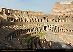 Colosseum Seating Vaults Arena and Hypogeum (underground) Rome