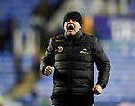 Chris Wilder manager of Sheffield Utd celebrates the win during the FA Cup match at the Madejski Stadium, Reading. Picture date: 3rd March 2020. Picture credit should read: Simon Bellis/Sportimage