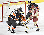 Patrick Neundorfer, Eric Leroux, Paul Stastny, Brett Westgarth (not a goal).  The Princeton University Tigers defeated the University of Denver Pioneers 4-1 in their first game of the Denver Cup on Friday, December 30, 2005 at Magness Arena in Denver, CO.
