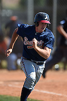 Atlanta Braves Reed Harper (82) during a minor league spring training game against the Houston Astros on March 29, 2015 at the Osceola County Stadium Complex in Kissimmee, Florida.  (Mike Janes/Four Seam Images)